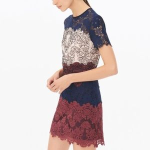 Authentic Sandro Paris lace bodycon dress